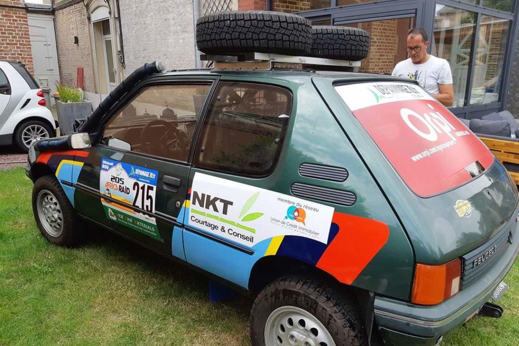 sponsoring RAID 205 - NKT Courtage & conseil