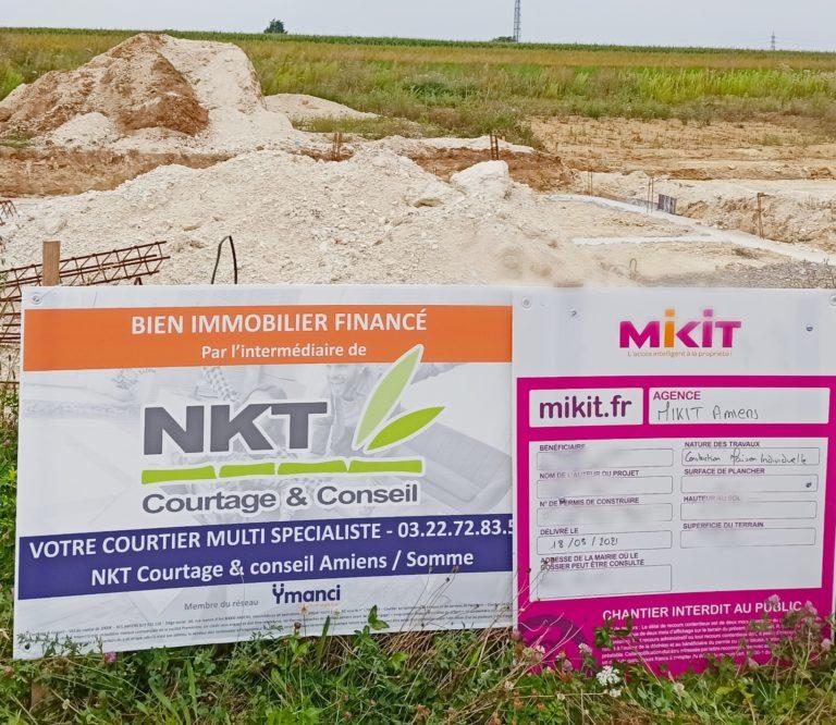 projet construction financé